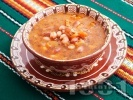 Рецепта Бистра боб чорба (супа) с домати и чубрица